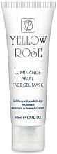 Düfte, Parfümerie und Kosmetik Intensiv feuchtigkeitsspendende aufhellende und beruhigende Gesichtsgel-Maske mit natürlichem Perlenextrakt und reinem Diamantenpulver - Yellow Rose Luminance Pearl Face Gel Mask (Tube)