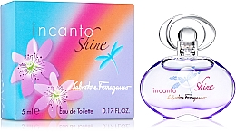 Düfte, Parfümerie und Kosmetik Salvatore Ferragamo Incanto Shine - Eau de Toilette (Mini)