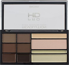 Düfte, Parfümerie und Kosmetik Augenbrauenpalette - Makeup Revolution HD Pro Brows
