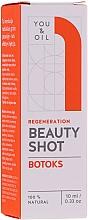 Düfte, Parfümerie und Kosmetik Gesichtsserum mit Salatöl und Vitamin E - You & Oil Beauty Shot Botoks Oil / Regeneration Face Serum