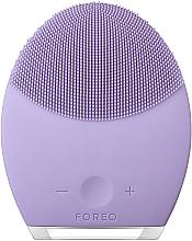 Düfte, Parfümerie und Kosmetik 2in1 Kompaktes Anti-Aging Massagegerät und reinigende Gesichtsbürste für empfindliche Haut - Foreo Luna 2 For Sensitive Skin