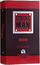 Düfte, Parfümerie und Kosmetik After Shave Lotion Iron - Strong Men After Shave Iron