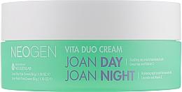 Düfte, Parfümerie und Kosmetik Glättende Creme für Tag und Nacht mit Lavendel und Vitamin E - Neogen Vita Duo Cream Joan Day + Joan Night