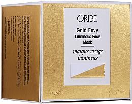 Düfte, Parfümerie und Kosmetik Aufhellende Gesichtsmaske mit Peptiden und Goldpartikeln - Oribe Gold Envy Luminous Face Mask