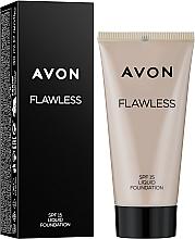 Düfte, Parfümerie und Kosmetik Foundation - Avon Flawless Liquid Foundation SPF15