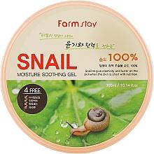 Düfte, Parfümerie und Kosmetik Feuchtigkeitsspendendes und beruhigendes Gel mit Schneckenmucin - FarmStay Moisture Soothing Gel Snail