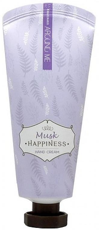 Handcreme mit Moschus - Welcos Around Me Happiness Hand Cream Musk