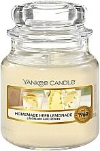 Düfte, Parfümerie und Kosmetik Duftkerze im Glas Homemade Herb Lemonade - Yankee Candle Homemade Herb Lemonade