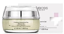 Düfte, Parfümerie und Kosmetik Reinigendes und Detox-Gesichtsmaske-Gel mit Tonerde und Niacinamid - Symbiosis London Purifying & Detoxifying Clay Mask-In-Gel
