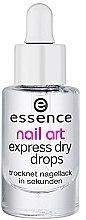Düfte, Parfümerie und Kosmetik Nagellacktrockner - Essence Circus Circus Nail Art Express Dry Drops