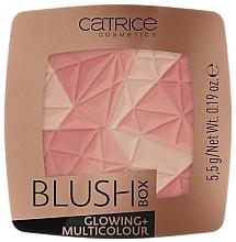 Düfte, Parfümerie und Kosmetik Mehrfarbiges Gesichtsrouge - Catrice Blush Box Glowing + Multicolour