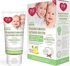 Düfte, Parfümerie und Kosmetik Kinderzahnpaste mit Apfel- Bananengeschmack 0-3 Jahre - SPLAT Kids