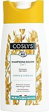 Düfte, Parfümerie und Kosmetik 2in1 Seifenfreies Duschgel und Shampoo mit Getreide - Coslys Body Care Body And Hair Shampoo With Cereals