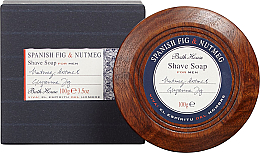 Düfte, Parfümerie und Kosmetik Bath House Spanish Fig and Nutmeg - Rasierseife mit Glycerin, Muskatnuss- und Feigenextrakt
