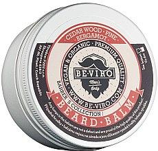 Düfte, Parfümerie und Kosmetik Bartbalsam mit Zedernholz, Kiefer und Bergamotte - Be-Viro Beard Balm Cedar Wood Pine Bergamot