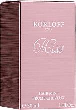 Düfte, Parfümerie und Kosmetik Korloff Paris Miss - Haarnebel