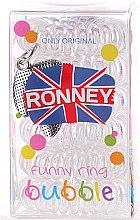 Düfte, Parfümerie und Kosmetik Haargummis transparent 6 St. №10 - Ronney Professional Funny Ring Bubble 10