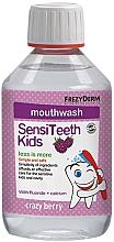 Düfte, Parfümerie und Kosmetik Mundspülung mit Heidelbeergeschmack für Kinder - Frezyderm SensiTeeth Kids Mouthwash