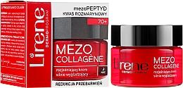 Düfte, Parfümerie und Kosmetik Aufhellende und glättende Nachtcreme gegen Verfärbungen mit Rosmarinsäure - Lirene Mezo Collagene