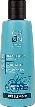 Düfte, Parfümerie und Kosmetik Körpermilch mit Blaubeere und Meersalz - GRN Pure Elements Blueberry & Sea Salt Body Lotion
