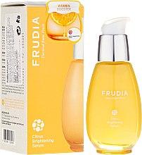 Düfte, Parfümerie und Kosmetik Aufhellendes Gesichtsserum Zitrus mit Niacinamid - Frudia Brightening Citrus Serum