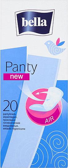 Slipeinlagen Panty New 20 St. - Bella