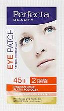 Düfte, Parfümerie und Kosmetik Hydrogel Augenpatches - DAX Perfecta Eye Patch 45+
