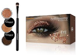 Düfte, Parfümerie und Kosmetik Lidschatten-Set - Bellapierre Eye Slay Kit Copper Glam