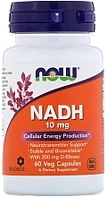 Düfte, Parfümerie und Kosmetik Nahrungsergänzungsmittel NADH 10 mg - Now Foods NADH Veg Capsules
