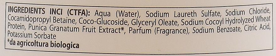 Regenerierender Badeschaum mit Bio Granatapfel-Extrakt - Parisienne Italia Fiorile Pomergranate Bath Foam — Bild N3