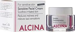 Düfte, Parfümerie und Kosmetik Gesichtscreme für empfindliche Haut - Alcina S Sensitive Facial Cream