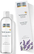 Düfte, Parfümerie und Kosmetik Gesichtstonikum mit Lavendel für fettige und Mischhaut - Nikel Tonik Lavanda