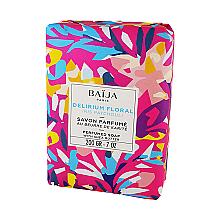 Düfte, Parfümerie und Kosmetik Parfümierte Seife mit Sheabutter - Baija Delirium Floral Soap
