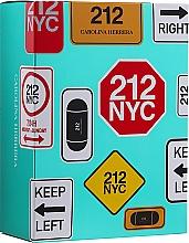 Düfte, Parfümerie und Kosmetik Duftset - Carolina Herrera 212 For Women (Eau de Toilette 100ml + Eau de Toilette Mini 10ml)