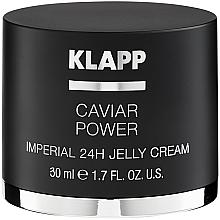 Düfte, Parfümerie und Kosmetik Anti-Aging Gelee-Creme für das Gesicht mit Kaviar-Extrakt - Klapp Caviar Power Imperial 24H Jelly Cream
