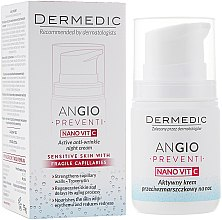 Düfte, Parfümerie und Kosmetik Aktive Nachtcreme gegen Falten - Dermedic Angio Preventi Active Anti-Wrinkle Night