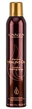 Düfte, Parfümerie und Kosmetik Haarspray für glänzendes Finish - L'anza Keratin Healing Oil Brush Thru Hair Spray