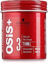 Düfte, Parfümerie und Kosmetik Styling Haarwachs starker Halt - Schwarzkopf Professional Osis+ Thrill Texture Fibre Gum