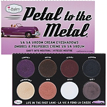 Düfte, Parfümerie und Kosmetik Lidschatten-Palette - theBalm Petal To The Metal Shift Into Neutral