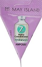 Düfte, Parfümerie und Kosmetik Intensiv feuchtigkeitsspendendes und regenerierendes Gesichtsserum mit Hyaluronsäure - May Island 7 Days Highly Concentrated Hyaluronic Ampoule