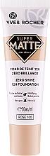 Düfte, Parfümerie und Kosmetik Langanhaltende mattierende Foundation - Yves Rocher Zero Shine 12H Foundation