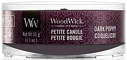 Düfte, Parfümerie und Kosmetik Mini Duftkerze im Glas Dark Poppy - Woodwick Dark Poppy