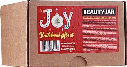 Düfte, Parfümerie und Kosmetik Körperpflegeset - Beauty Jar Joy Bath Bomb Gift Set (Badebombe 4x115g)