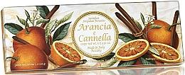 Düfte, Parfümerie und Kosmetik Natuseifenset Orange und Zimt - Saponificio Artigianale Fiorentino Orange & Cinnamon (Seife 3St. x100g)