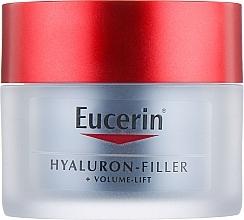 Düfte, Parfümerie und Kosmetik Anti-Aging Nachtcreme - Eucerin Hyaluron-Filler+Volume-Lift Night Cream
