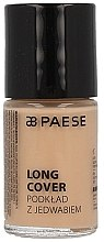 Düfte, Parfümerie und Kosmetik Leichte Foundation für trockene Haut - Paese Long Cover