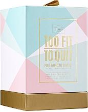 Düfte, Parfümerie und Kosmetik Körperpflegeset - The Scottish Fine Soaps Company To Fit To Quit (Duschgel 75ml + Shampoo 75ml + Körpercreme 75ml + Haarband)