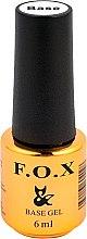 Düfte, Parfümerie und Kosmetik Gelnägel Unterlack - F.O.X Base Strong Gel
