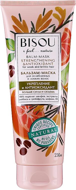Stärkende und antioxidative Haarspülung-Maske - Bisou Balm-Mask Strengthening & Antioxidant