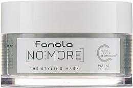 Düfte, Parfümerie und Kosmetik Anti-Frizz Stylingmaske für strapaziertes, widerspenstiges und krauses Haar - Fanola No More The Styling Mask